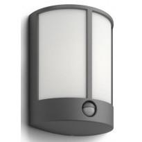 LED-ulkoseinävalaisin Philips myGarden, Stock 180x88x246mm, liiketunnistimella, antrasiitti