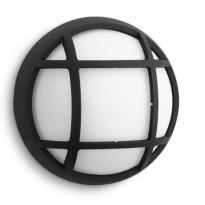 LED-ulkoseinävalaisin Philips myGarden, Eagle, 170x74x170mm, musta ruudukko
