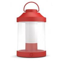LED-lyhtyvalaisin Philips myGarden, Abelia, Ø 150x233mm, punainen