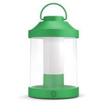 LED-lyhtyvalaisin Philips myGarden, Abelia, Ø 150x233mm, vihreä
