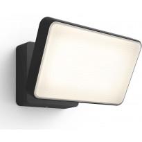 Ulkovalonheitin Philips Hue Discover WACA EU LED, 15W, IP44 153x160x220mm, musta