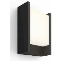 Ulkoseinävalaisin Philips Hue Fuzo White EU LED, 15W, IP44 221x75x166mm, musta