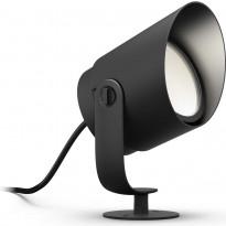 LED-spottivalaisin Philips Hue Lily XL WACA LV EU, 15W, musta