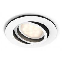 LED-alasvalo Philips Hue Milliskin, Ø 90x100mm, valkoinen