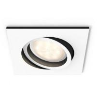 LED-alasvalo Philips Hue Milliskin, 90x90x100mm, valkoinen, sis. kaukosäätimen