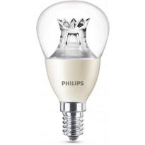LED-lamppu Philips Warm Glow, 6W (40W), P48, E14, himmennettävä