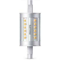 LED-lamppu Philips, 7,5W (60W), R7s, 78mm, 3000K