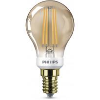 LED-lamppu Philips 5W (35W), P45, E14, Gold