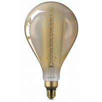 LED-lamppu Philips Giant 5W (25W), E27, A160, Gold