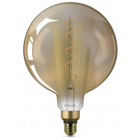 LED-lamppu Philips Giant 5W (25W), E27, G200, Gold