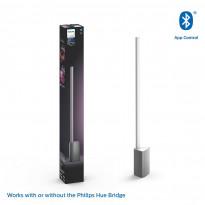LED-pöytävalaisin Philips Hue Signe, bluetooth, 14W, IP20, 628x65x77mm, alumiini