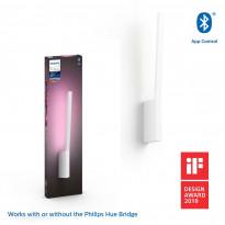 LED-seinävalaisin Philips Hue Liane, bluetooth, 12W, IP20, 558x107x31mm, valkoinen