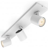 LED-spottivalaisin Philips Hue BT Runner, 3-osainen, valkoinen