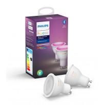 LED-älylamppu Philips Hue WCA, 6W, GU10, 2kpl/pkt