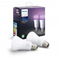 LED-älylamppu Philips Hue WCA, 9W, E27, A60, 2kpl/pkt