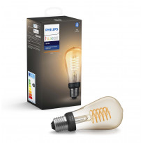 LED-älylamppu Philips Hue W, 7W, E27, ST64