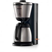 Kahvinkeitin Intense, termoskannulla, 1,2l, musta/metalli