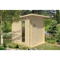 Sauna Polhus Mikko, 4 m², 2126x2423x2422 mm, 70 mm
