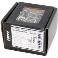Lyhytlenkkiketju Piippo, 4mm x 2m