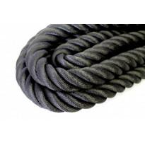Kaideköysi Piippo keinohamppu musta, 36mm, metreittäin