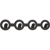 Koukkulista Pisla Earth 4-Os musta