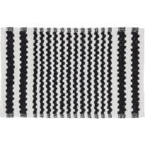 Kylpyhuonematto Pisla Sealskin Motif, 50x80cm, musta