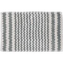 Kylpyhuonematto Pisla Sealskin Motif, 50x80cm, harmaa