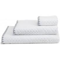 Pyyhe Sealskin Porto, 30x50cm, valkoinen