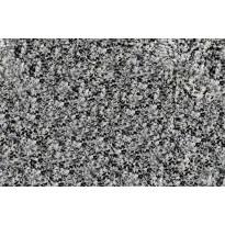 Kylpyhuonematto Duschy Sydney, 70x120cm, musta/valkoinen