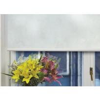 Rullaverho Pisla Marmori, pimentävä, valkoinen, 70-200x170cm, eri kokovaihtoehtoja