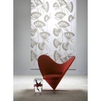 Rullaverho Pisla Viuhka, pimentävä, valkoinen/valkoinen, 70-200x170cm, eri kokovaihtoehtoja