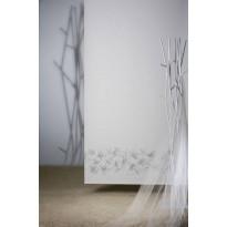 Rullaverho Pisla Keto, pimentävä, valkoinen/hopea, 70-200x170cm, eri kokovaihtoehtoja