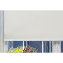 Rullaverho Pisla, pimentävä, valkoinen, 70-200x170cm, eri kokovaihtoehtoja