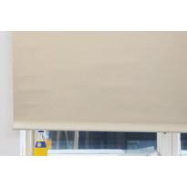 Rullaverho Pisla, pimentävä, luonnonvalkoinen, 70-200x180cm, eri kokovaihtoehtoja