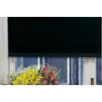 Rullaverho Pisla, pimentävä, musta, 70-200x180cm, eri kokovaihtoehtoja
