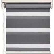 Rullaverho Day&Night Presto, pimentävä, harmaa, 70-180x160cm, eri kokovaihtoehtoja