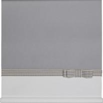 Rullaverho Aino, harmaa/valkoinen, 70-200x170cm, eri kokovaihtoehtoja