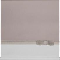 Rullaverho Aino, pellava/valkoinen, 70-200x170cm, eri kokovaihtoehtoja