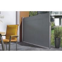 Sivumarkiisi Pisla, 1.8x3m, akryyli, harmaa
