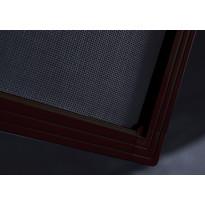 Hyttysverkko 120x120cm, ruskea, koottava