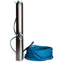 Porakaivopumppu Lohja PM 18-24 3-V, 80m paketti