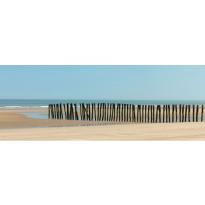 Sängynpäätytarra Pohjoinen rannikko, 160x59cm