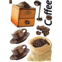 Sisustustarrasetti Kahvi 11 tarraa