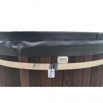 Kylpytynnyrin lämpökansi PW-Spa, Ø180cm, musta