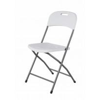 Kokoontaitettava tuoli AB Polar, valkoinen