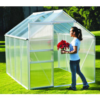Kasvihuone Eco, 3,8m², kennolevyllä