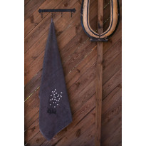 Jättipyyhe Pikkupuoti Suovilla, 100x150cm, harmaa
