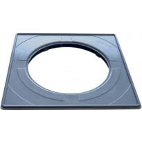 Vakioasennuskehys lattiakaivonkannelle PP-Tuote, 197 x 197 mm