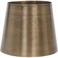 Varjostin PR Home Mia, metallivarjostin, Ø 200/145 x 170 mm, raakamessinki