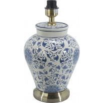 Lampunjalka PR Home Fang Hong, 380 x 225 mm, valkoinen/sininen